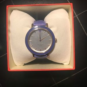 NWT and Box Kate Spade Metro Bright Purple Watch